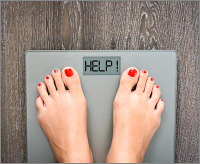 Sie sind übergewichtig?